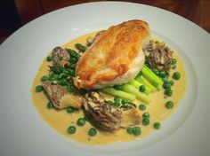 Roast Chicken with a Morel and Three Peppercorn Sauce. - Fine Dining Recipes | Food Blog | Restaurant Reviews | Fine Dining At Home