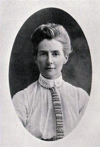 Edith Cavell, enfermera británica heroína de la I Guerra Mundial