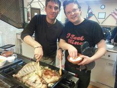 Vaya dos cocineros de postin @etham y @frapaho #GaldakaON