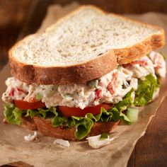 A meaty chicken salad sandwich on 9-grain bread is a serious challenge to the 3pm blahs.