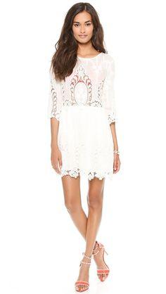 Dolce Vita Valentina Lace Dress / short wedding dress / reception dress / alternative / non-traditional