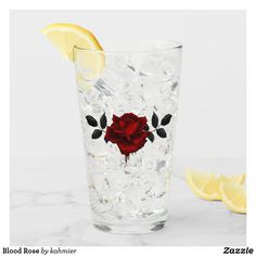 Blood Rose Glass