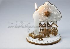 Incredibly beautiful Cupcake Gingerbread Cookie Christmas scene