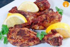 This low-fat curried chicken is packed full of flavour. Pollo Tandoori, Tandoori Masala, Garam Masala, Tandoori Chicken, Tandoori Recipes, Bbc Good Food Recipes, Gluten Free Chicken, Tray Bakes, Chicken Recipes