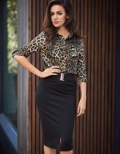 4a7776e3ceb3 Show off those curves by stepping out in this must have pencil skirt from  Lipsy Love · Michelle KeeganFashion PrintsAnimal ...