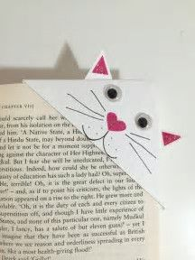 Image result for Kitten Corner Bookmark