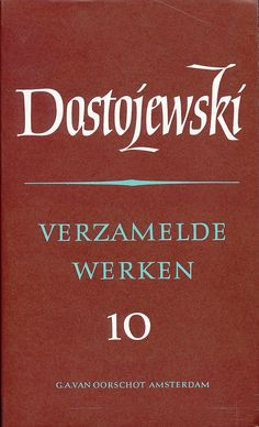 Dostojewski, Verzamelde werken. Russische bibliotheek. Serie Publisher: G. A. van Oorschot, Amsterdam. Ik heb alleen deel 6 (de idioot), maar wil ze verder allemaal nog hebben.