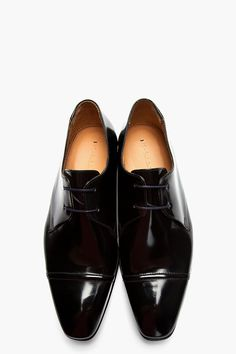 Dress to Impress Black Patent Leather Shoes Paul Smith #NDLstyle