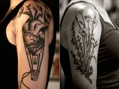 I absolutely love this!!! ALICE CARRIER| tattoo with different placement.