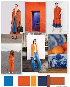 FV TRENDS x COLOR | ORANGE   BLUE
