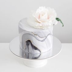 Image result for black marble fondant wedding cakes