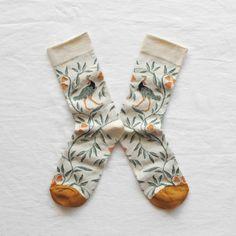 Chaussettes Femme Originales Made in France Autruche Naturel