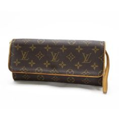 Louis Vuitton Pochette Twin GM Monogram Shoulder bags Brown Canvas M51852