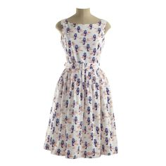 for july 4, 2014   Clothing & Accessories Dresses Sea Horse Print Sundress