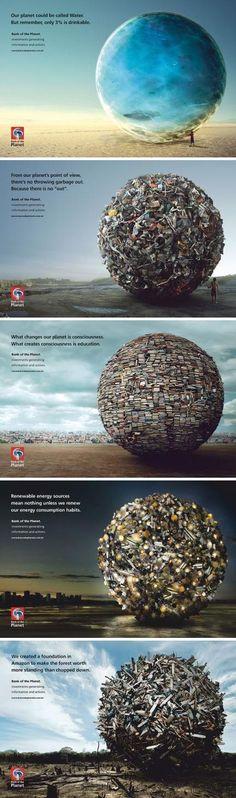 创意果子: #创意广告#亚马逊星球银行创...