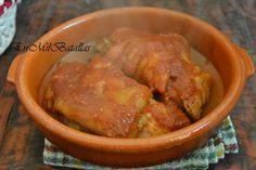 Patas de cerdo en salsa