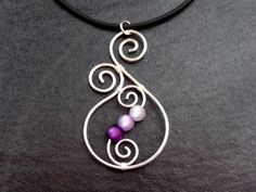 Ooh, I could make this because purple amethyst is my birth stone, and because I ...