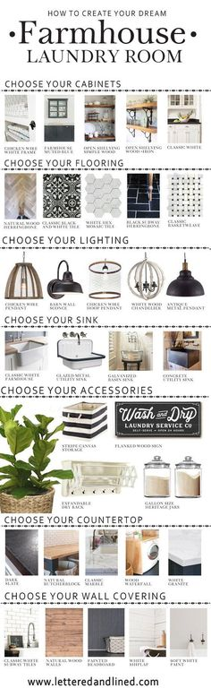 ORIGINAL SOURCE LINKS ACCESSORIES: WASH AND DRY SIGN Gallon Clear Heritage Jars Striped Storage Bin Fiddle Leaf Fig WovenWater Hyacinth Basket ExpandableDry R