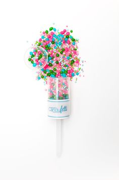 6 Sweet Lulu Candyfetti™ Poppers Candy Confetti by Sweets Indeed