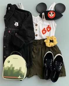 Cute Disney Outfits, Disney World Outfits, Disney Themed Outfits, Disneyland Outfits, Stylish Outfits, Cool Outfits, Baby Disney Characters, Cute Fashion, Fashion Outfits