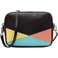 Marc by Marc Jacobs - Leather Colorblock Camera Bag