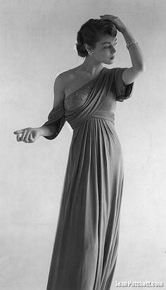 Jean Patchett Vogue Magazine Photography Horst P. Horst July 1949  http://jeanpatchett.com/