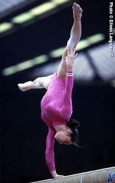 Olga Strazheva of Ukraine