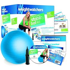 WeightWatchers Stability Ball kit ** To view further for this item, visit the image link. (This is an affiliate link and I receive a commission for the sales) #ExerciseBallsAccessories