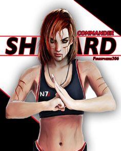 New Commander Shepard by Firesphere306 on DeviantArt