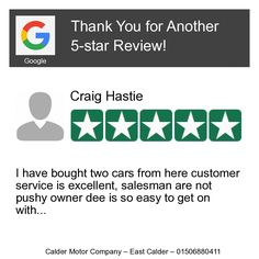 Wow! One of our customers just left on our Review Page a 5-star Review! Want to Review us too? Click or Tap here: https://hoy.cc/1g0