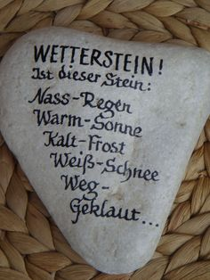 Stein Wetterstation Stein Wetterstation Stein Wetterstation The post Stein Wetterstation appeared first on Geschenke ideen. The post Stein Wetterstation appeared first on Garten ideen. Pots, Diy Crafts To Do, Decoration Table, Stone Art, Stone Painting, Garden Art, Painted Rocks, Diy Gifts, Handmade