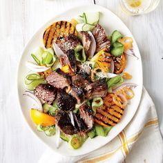 5 Dishes You Must Try from Our New August Issue: Short Ribs with Cucumber and Orange Salad | CookingLight.com