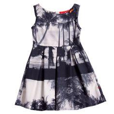 Tunics & Dresses : classic dress shadow palms