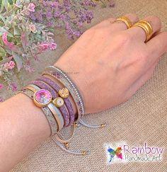 Handmade jewelry and more! Handmade Bracelets, Handmade Jewelry, Purple Gold, Handmade Art, Bangles, Fashion, Bracelets, Moda, Handmade Jewellery
