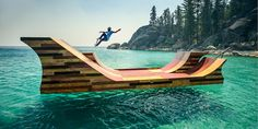 Is this the coolest skate ramp ever? #travel
