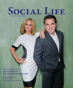 SONJA MORGAN from Real Housewives of New York City – BRAVO TV Photographed by VITAL AGIBALOW for HENSEL in New York for Social Life magzine cover – September 2015 issue – HAMPTONS. – vitalphoto.com Blog