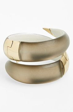 Alexis+Bittar+'Lucite®'+Coil+Hinged+Bangle+available+at+#Nordstrom