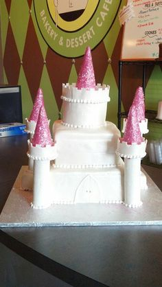 Sculpted Castle Cake for Kids Birthday Cake