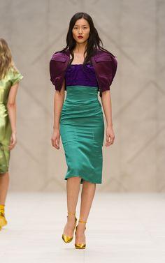 The Burberry Prorsum Womenswear Spring/Summer 2013 Show looks like Ariel :)