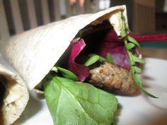 En verden af smag!: Wraps med Lam og Hummus