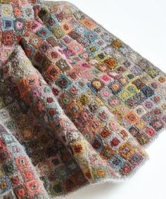 Sophie Digard crochet - tiny squares by SAburns