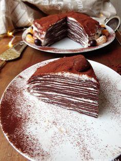 Oggi vi porto nei paesi scandinavi con un dessert sorprendentemente delizioso: la torta mille strati. Questo dessert ♦๏~✿✿✿~☼๏♥๏花✨✿写☆☀🌸🌿🎄🎄🎄❁~⊱✿ღ~❥༺♡༻🌺TU Jan ♥⛩⚘☮️ ❋ Apple Cake Recipes, Brownie Recipes, Chocolate Recipes, Dessert Recipes, Sweet Desserts, Just Desserts, Weird Food, Gelato, No Bake Cake