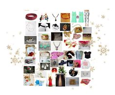 """More Etsy Christmas Gift Ideas"" by mikahelaine on Polyvore featuring art"