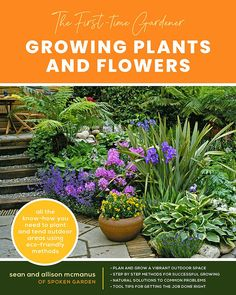 The First-time Gardener: Growing Plants and Flowers: All the know-how you need to plant and tend outdoor areas using eco-friendly methods - National Garden Bureau Growing Vegetables, Growing Plants, Bags Of Mulch, Tree Mulch, Common Garden Plants, Gardening Books, Gardening Tips, Garden Maintenance, Garden Care