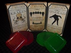 Undead Repellent Soap [ASB-BBW-0002] - $6.66 : The Airship Bismarck, Fine Quality Steampunk Masks, Goggles, and Accessories