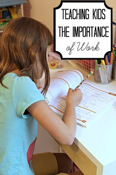 Raise kids with a strong work ethic- not a sense of entitlement. 6 Things We Do to Teach Our Kids To Work