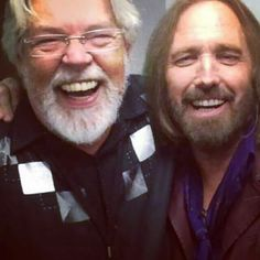 Two of all time favorites Bob Seger and Tom Petty! Via Bob Segers page
