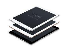 iPad Air 2 Perspective MockUp