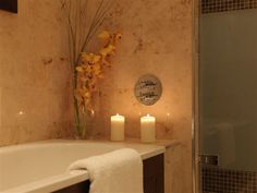 Relax and rejuvenate on a cold winters' evening. Bathroom Lighting, Castle, Relax, Xmas, Cold, Mirror, Winter, Home Decor, Bathroom Light Fittings