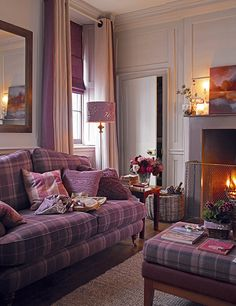 Living room red sofa laura ashley Ideas for 2019 Living Room Furniture, Home Furniture, Living Room Decor, Furniture Layout, Furniture Sets, Dining Room, Mauve Living Room, Country Furniture, Furniture Storage
